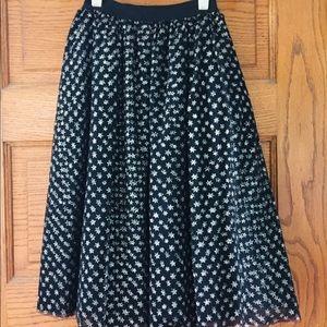 Dresses & Skirts - Sparkly Kawaii Star Pattern Tulle Skirt
